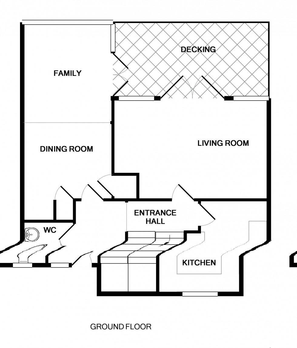 Floorplan for Hartley Wintney, Hook